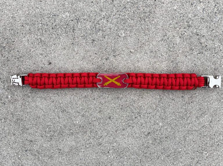 Artillery Cross Cannons Bracelet