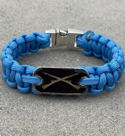Infantry Cross Rifles Bracelet with Chrome Buckle