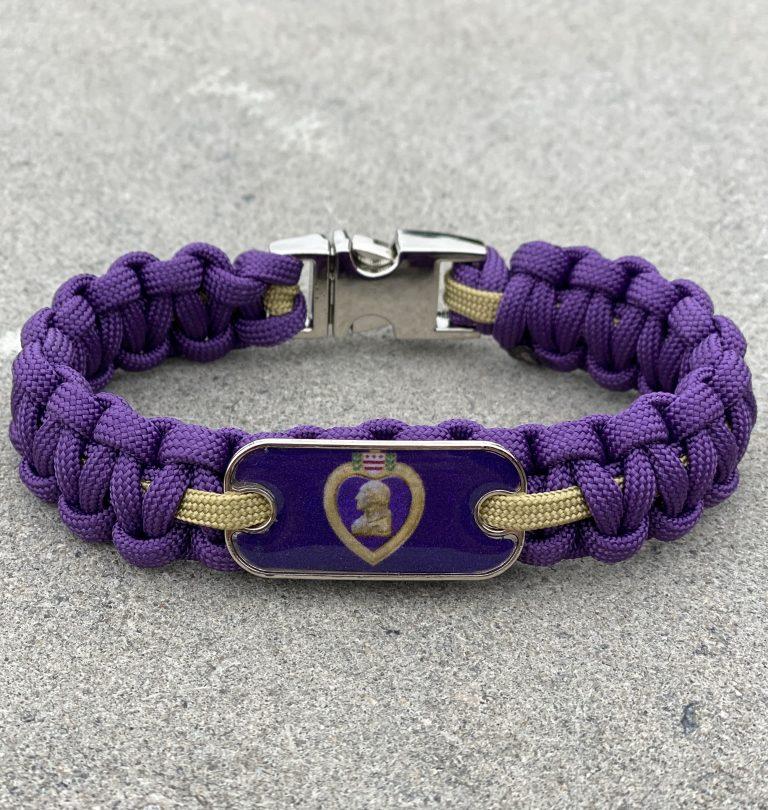 Purple Heart Bracelet