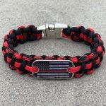 Black and Black Widow Thin Red Line